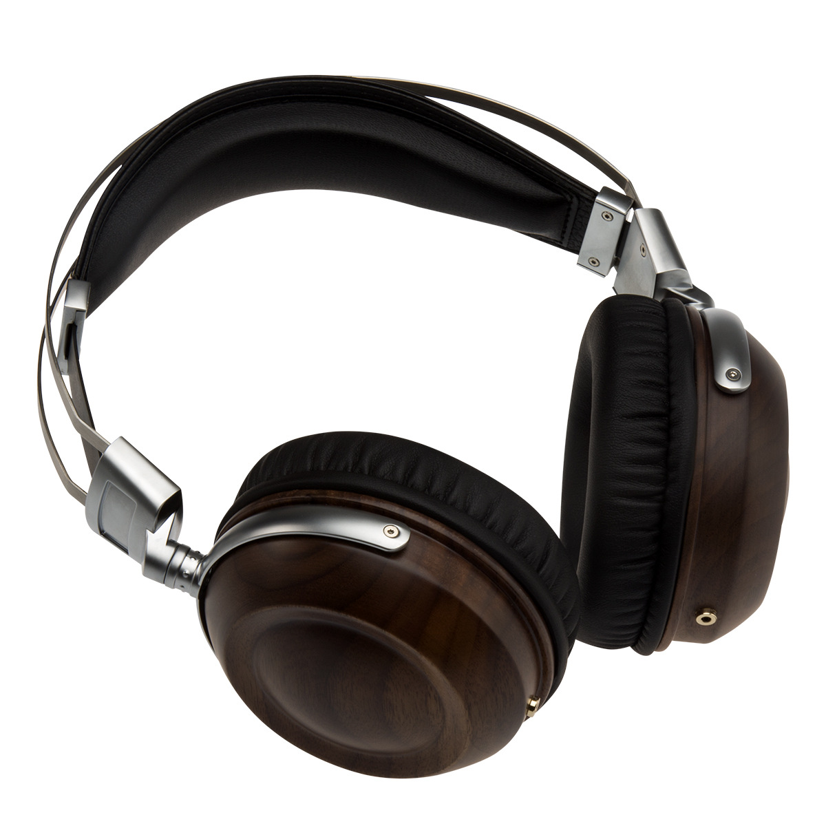 WHP860W High-end Headphones Head-mounted HIFI Walnut Alloy High-fidelity Mobile Computer Headset 3