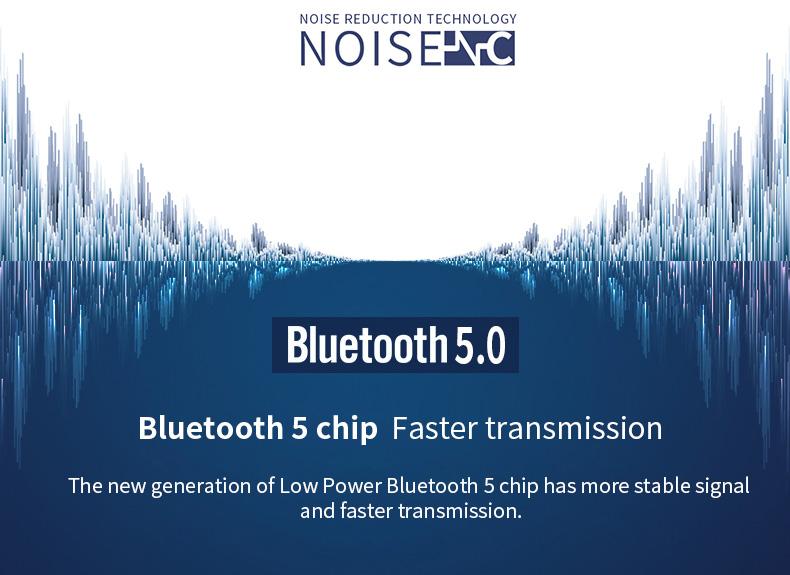 New Touch K12 Wireless Binaural 5.0 Sports Mini In-ear Noise Reduction Bluetooth Headset 10
