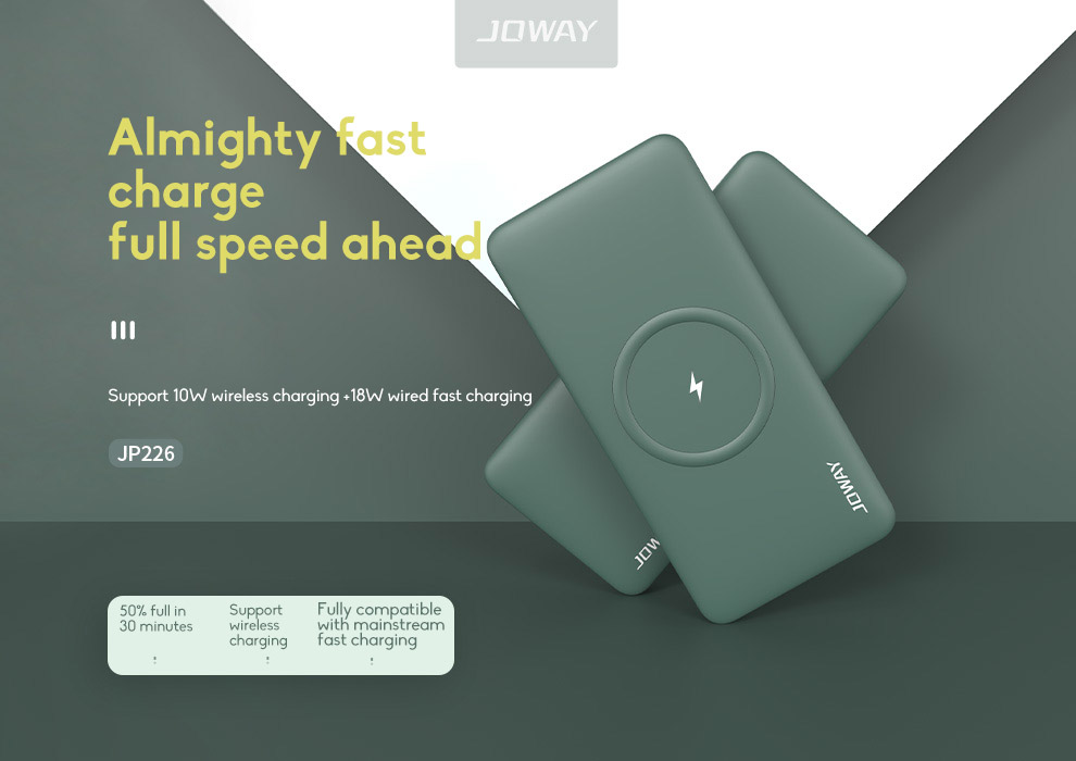 10000mAh Fast Charging Wireless Charging Power Bank Ultra-thin With Large Capacity 0