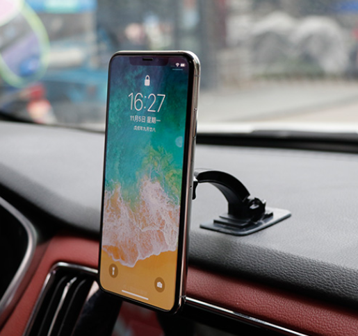 Micro-curved Surface Attached To The Car Mobile Phone Holder Nano Micro-magnetic Attraction Strong Car Inner large Flat Navigation Support Frame 5