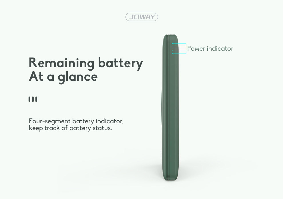 10000mAh Fast Charging Wireless Charging Power Bank Ultra-thin With Large Capacity 7