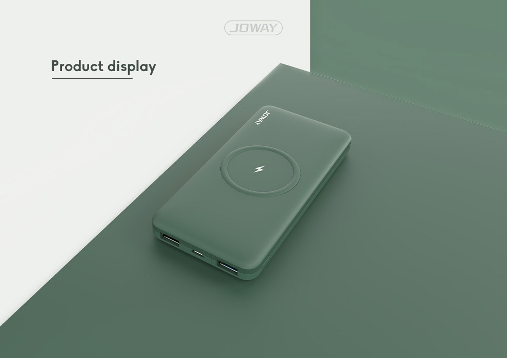 10000mAh Fast Charging Wireless Charging Power Bank Ultra-thin With Large Capacity 8