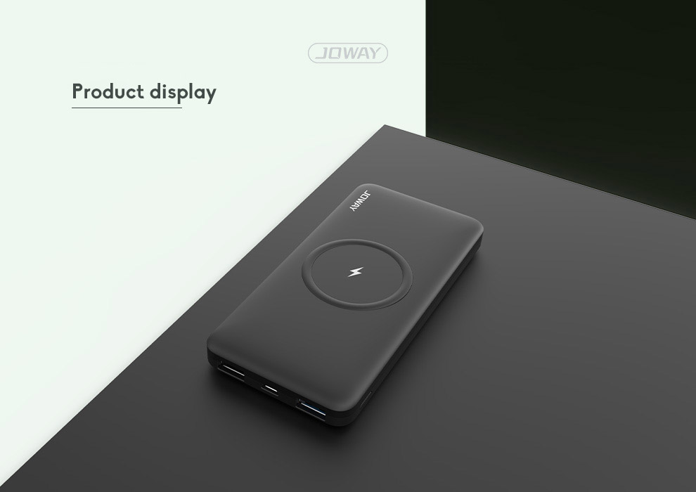 10000mAh Fast Charging Wireless Charging Power Bank Ultra-thin With Large Capacity 9