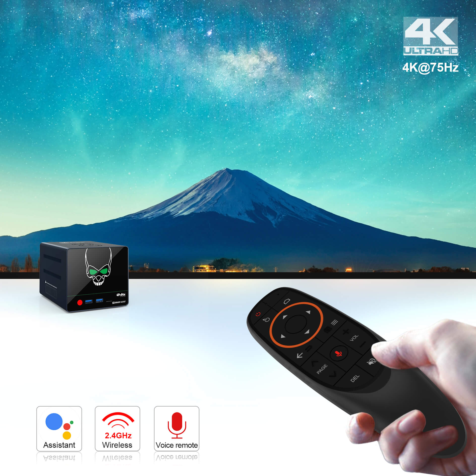 Beelink GS-King X S922X-H Android 9.0 Powerful TV Box 4/64G with NAS Dolby DTS HIFI 4K Support HDD Expansion 8