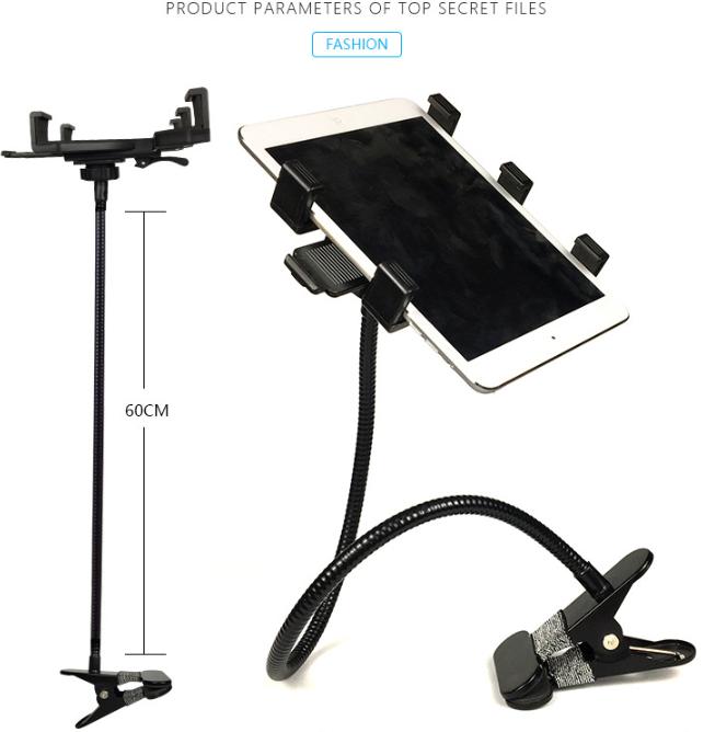 Tablet Bracket Universal Bedside Mobile Phone Universal Clip Double-sided Table Desktop Learning Bracket 3