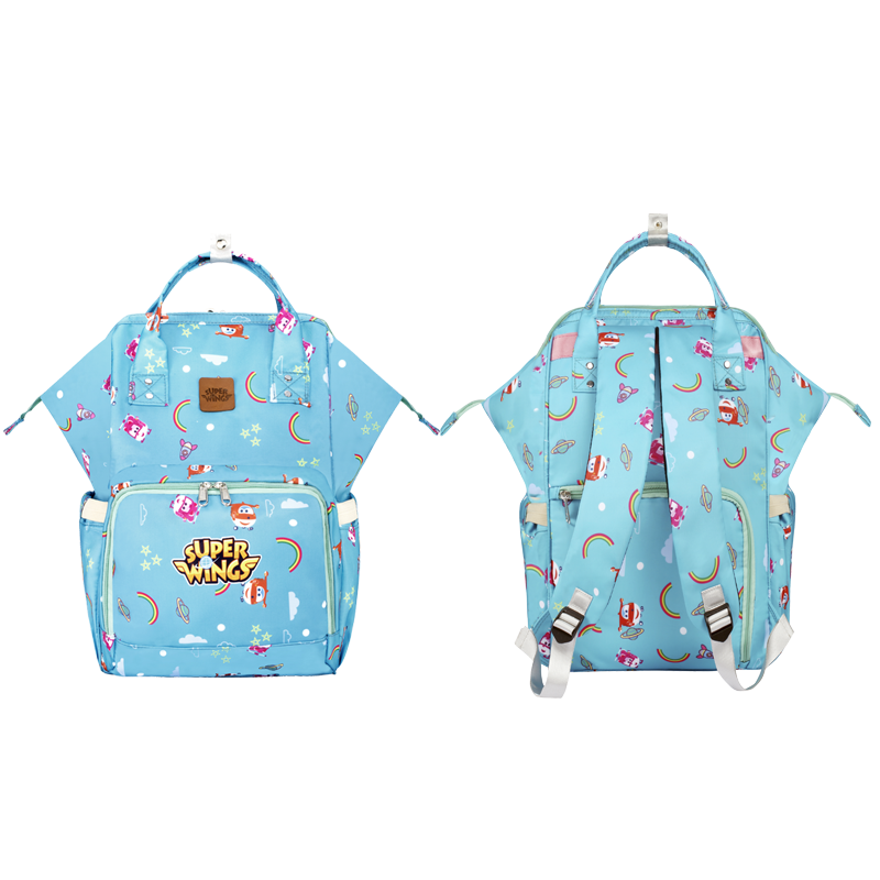 MP-MMB01 Fashion Multifunctional Mummy Bag Diaper Backpack With Large Capacity Travel Diaper Bag Fashion Mummy Bag 3