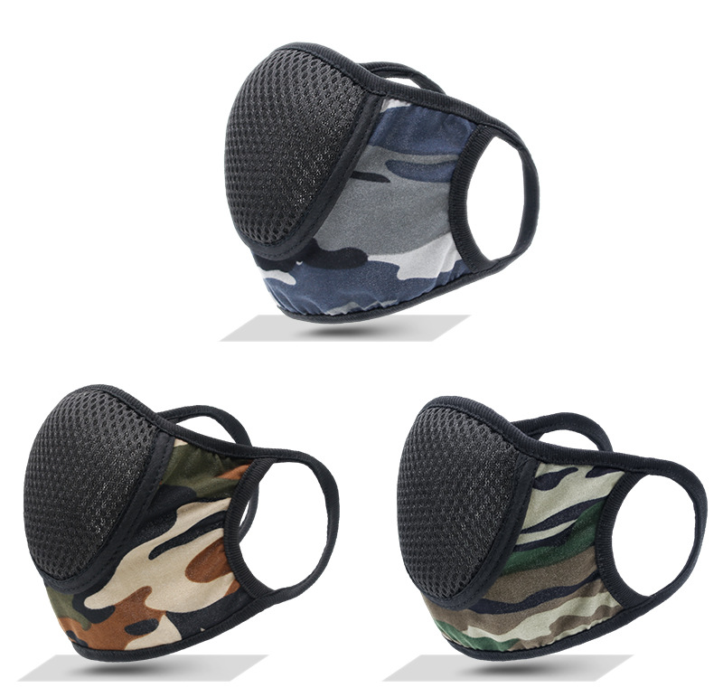 Cotton Camouflage Masks Outdoor Sports Cycling Sunscreen Dustproof and Breathable Masks 0