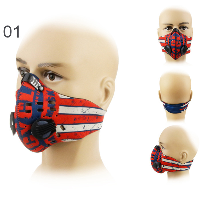 GLORSUN Outdoor Anti-haze PM2.5 Cycling Mask Windproof Sports Running Dustproof Mask 0