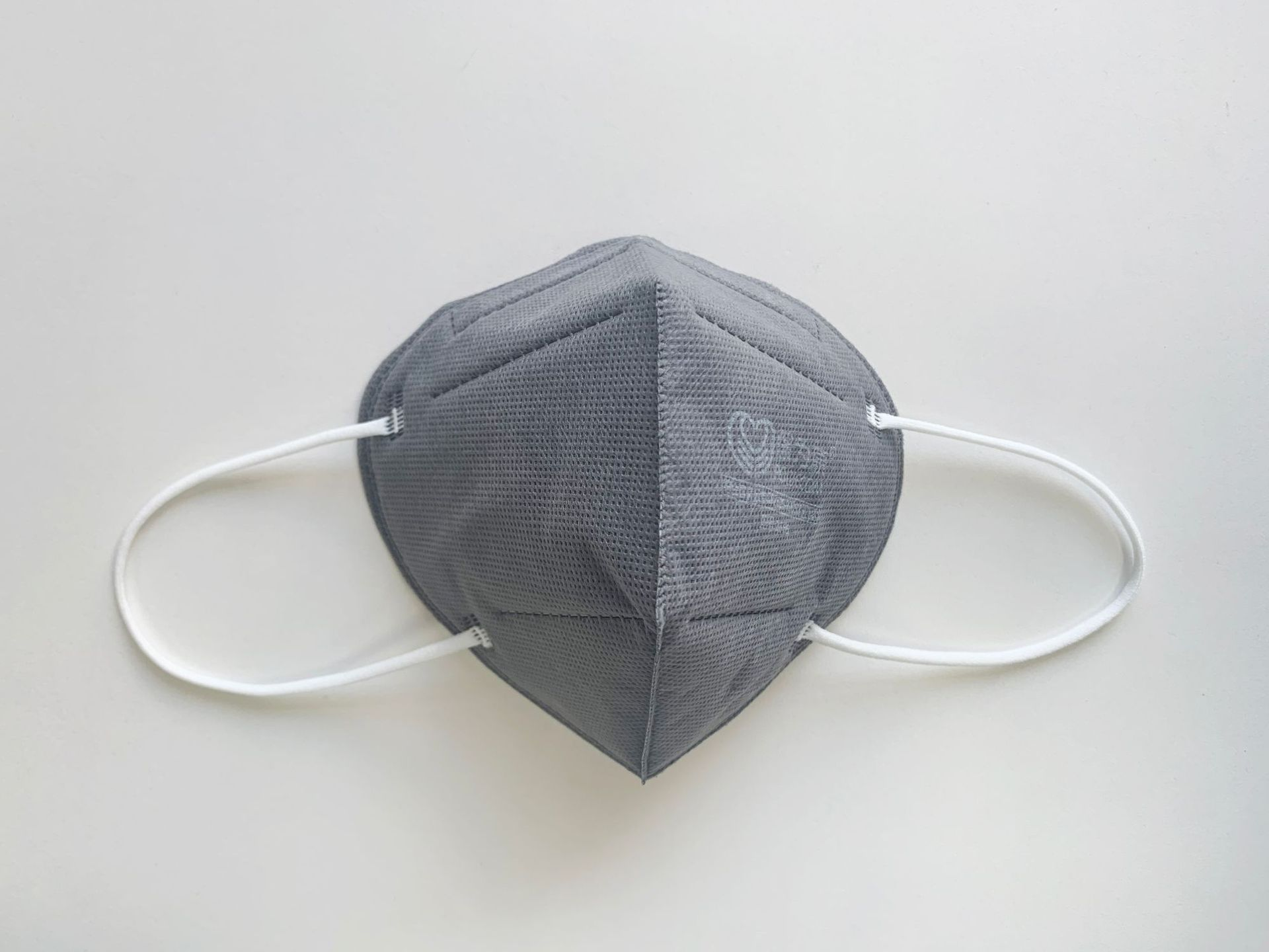 POWECOM 1866 Foldable KN95 Activated Carbon Mask Anti-odor and Oily Fume Industrial Dust Mask 60Pcs 1