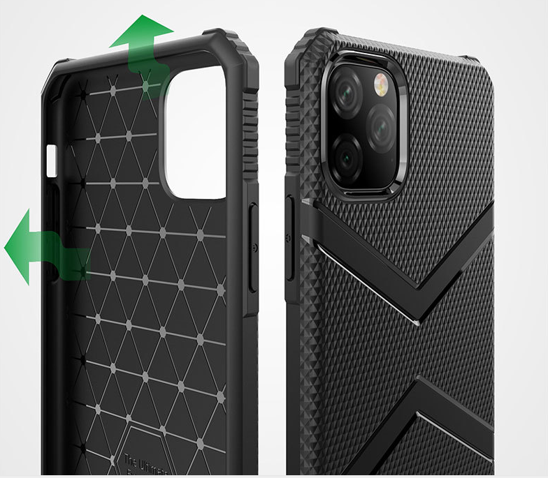 For iPhone 11 Mobile Phone Shell Military Anti-fall XSMAX Shield Armor Four-corner Airbag XR Protective Sleeve Military Thickening PTU 0