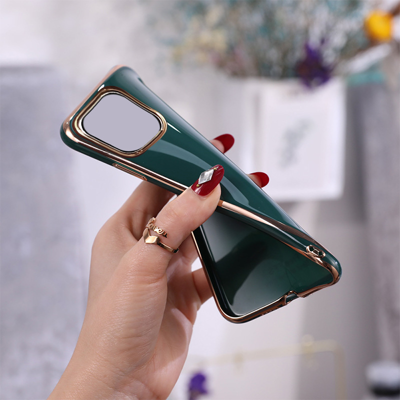 Suitable For iPhone11 Mobile Phone Shell 6D Electroplating TPU Apple SE2 Creative 7plus Protective Cover XSMax Anti-fall Shell 2