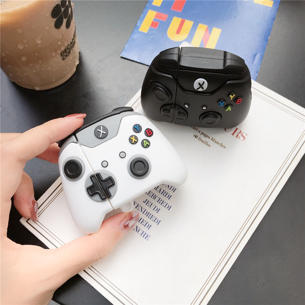 Suitable For Apple AirPods Headset Protective Cover 1st Generation 2nd Generation Wireless Bluetooth Gamepad Stereo Silicone Pro3 1