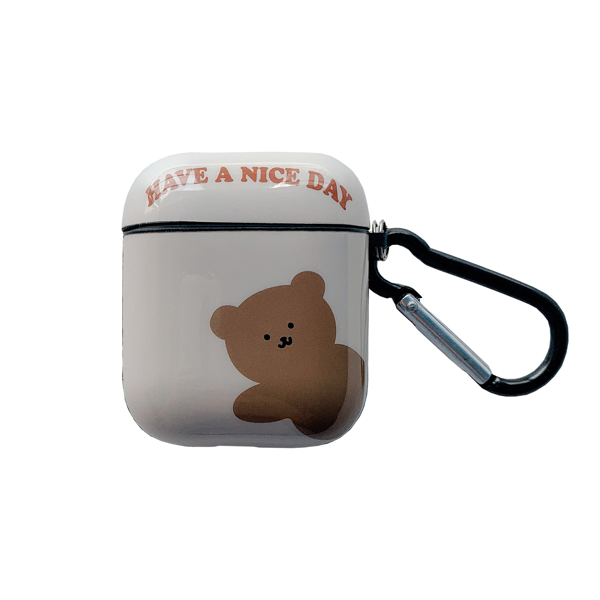Bear AirPods Apple Earphone Case Drop Box Case Case New Personality Creative Silicone Female Male Pro Applicable 3