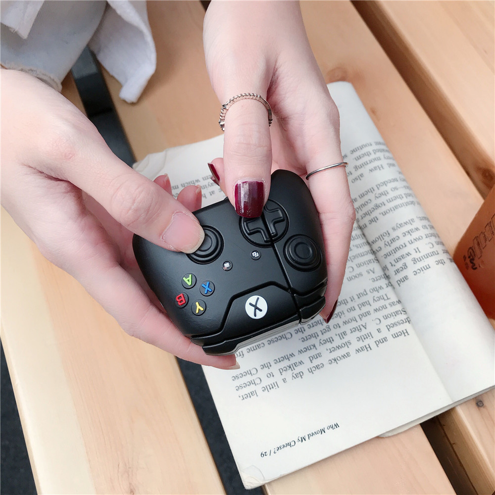 Suitable For Apple AirPods Headset Protective Cover 1st Generation 2nd Generation Wireless Bluetooth Gamepad Stereo Silicone Pro3 7