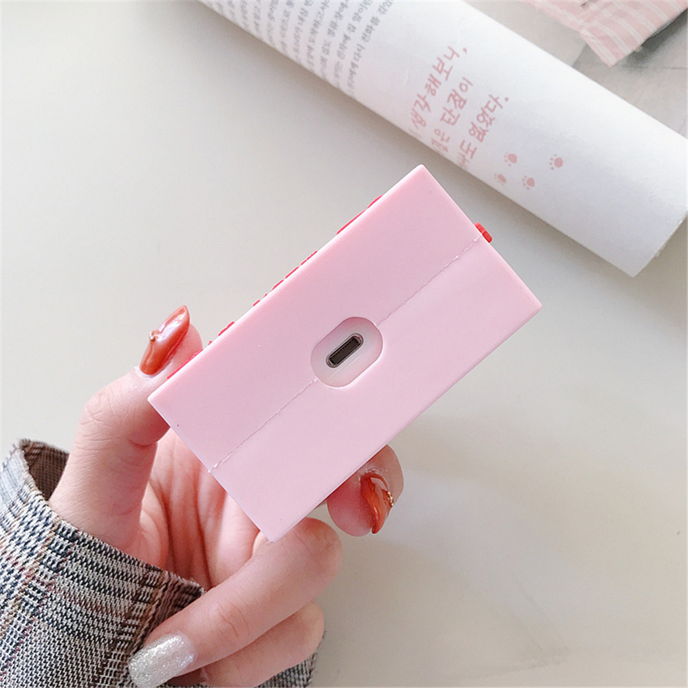 Ins Style Meiji Milk Drink Airpods2 Protective Cover Apple Wireless Bluetooth Headset Cover Silicone Applicable 5