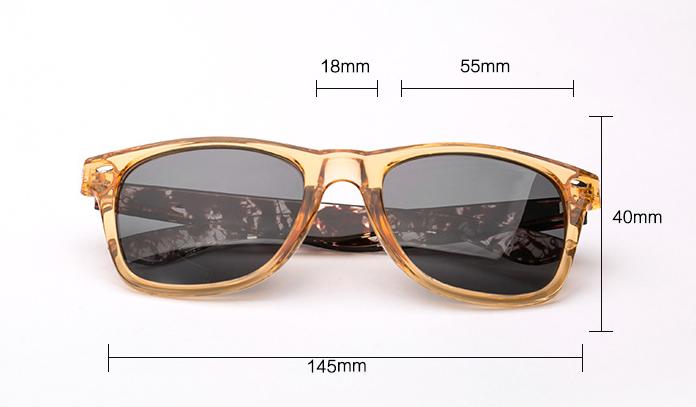 Retro Square Sunglasses Men Polarized Sun Glasses Retro Vintage Goggles Women Fashion Driving Eyewear 1