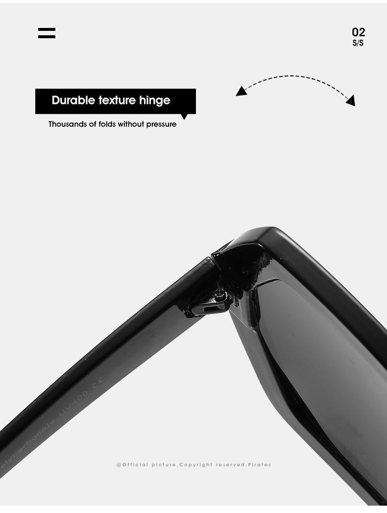 2020 Personalized Chain Sunglasses European And American Exaggerated Octagonal Sunglasses Women Fashion Glasses Sunglass 12