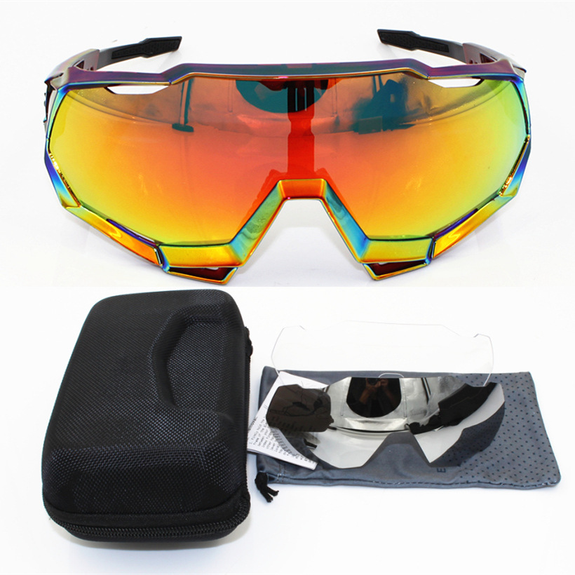 Sagan Professional Cycling Glasses Female Polarized Outdoor Sand-Proof Sports Mountain Bike 3 Cycling Mirror Equipment 5