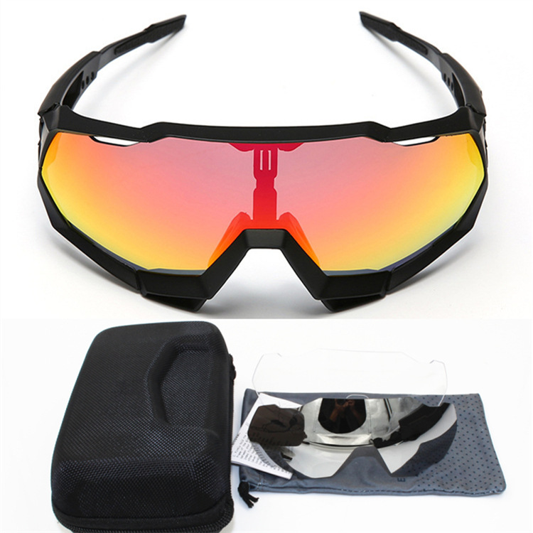 Sagan Professional Cycling Glasses Female Polarized Outdoor Sand-Proof Sports Mountain Bike 3 Cycling Mirror Equipment 1