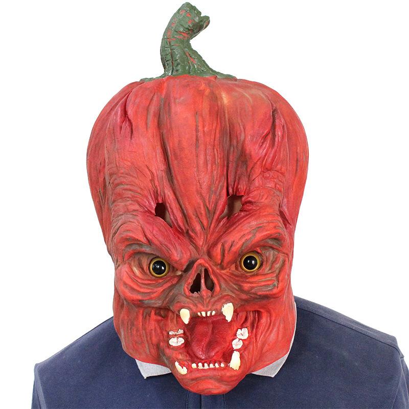 Halloween Clown Pumpkin Mask Horror Funny Dance Party Mask Costume Play Cos Props Pumpkin Mask 38*29*33 CM 2