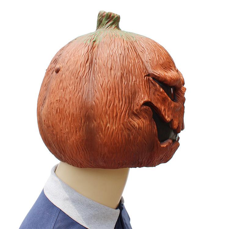 Halloween Clown Pumpkin Mask Horror Funny Dance Party Mask Costume Play Cos Props Pumpkin Mask 38*29*33 CM 4