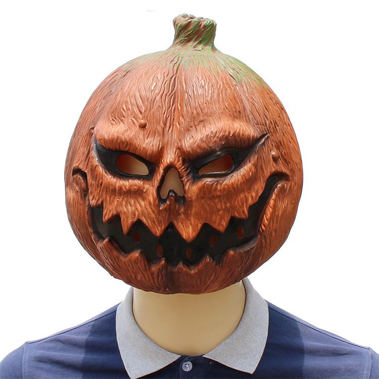 Halloween Clown Pumpkin Mask Horror Funny Dance Party Mask Costume Play Cos Props Pumpkin Mask 38*29*33 CM 0