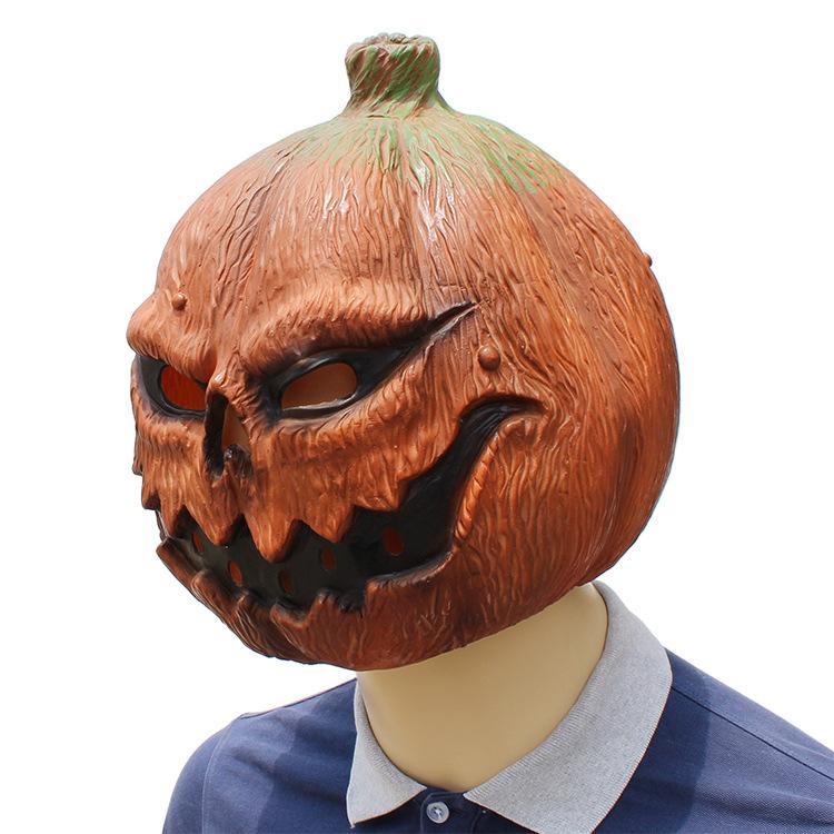 Halloween Clown Pumpkin Mask Horror Funny Dance Party Mask Costume Play Cos Props Pumpkin Mask 38*29*33 CM 1
