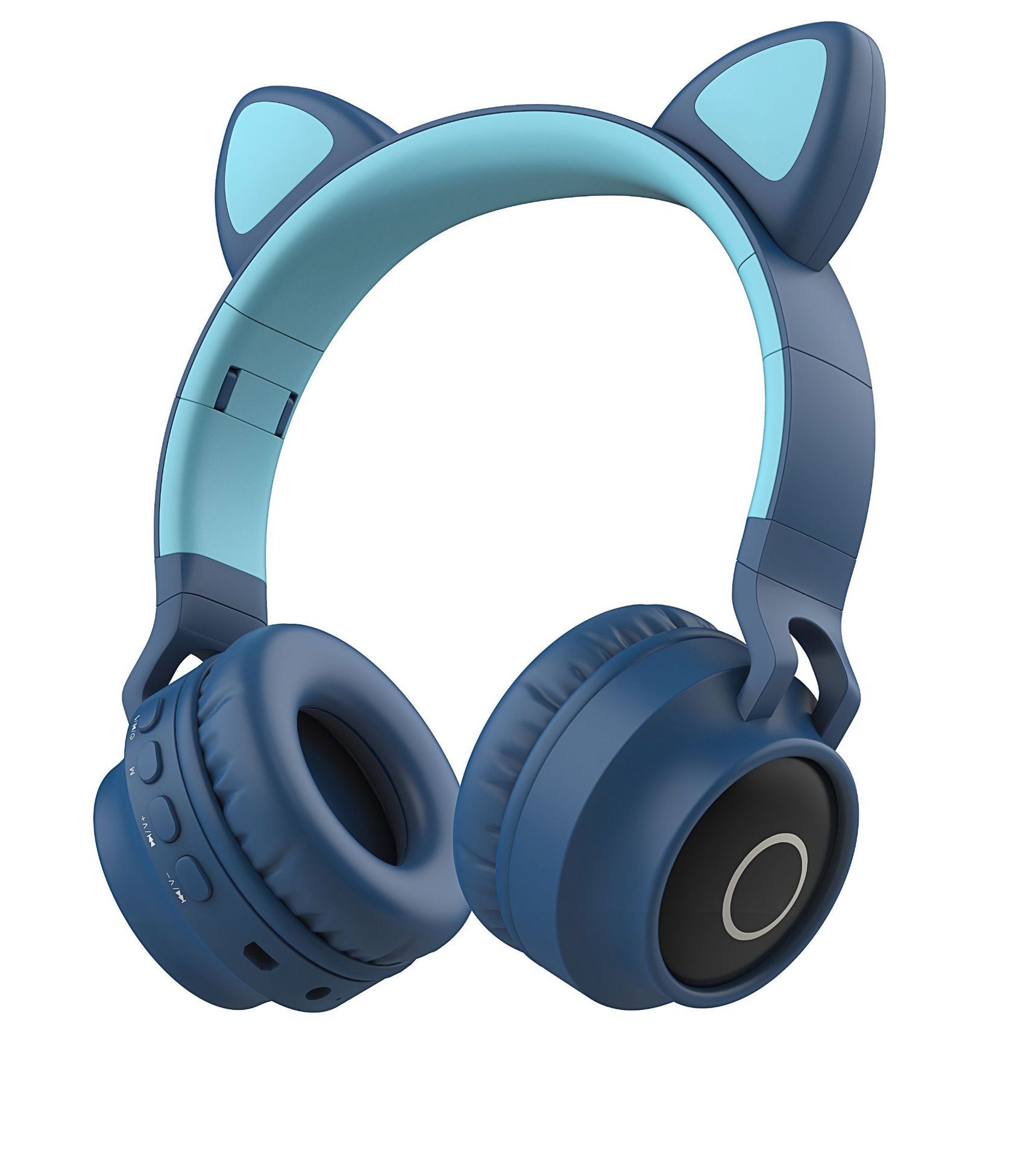 New Student Cute Cat Ear Headset Wireless Cartoon Bluetooth Gaming Headset Mobile Phone Explosion Headset 2