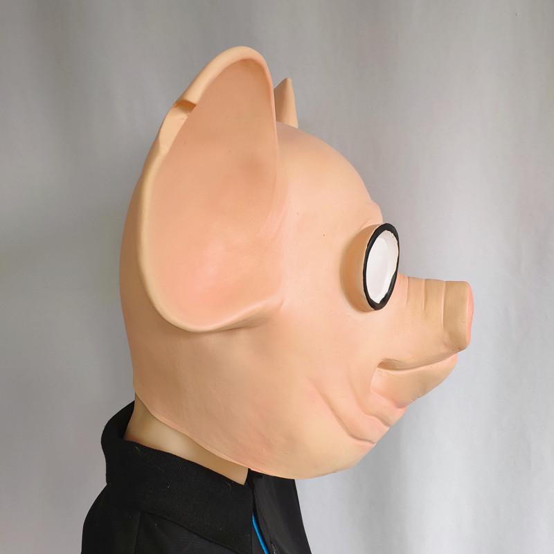 2020 Game Watchdogs Army Mask Watch Dogs Smoking Pig Head Animal Mask Vibrato Headgear Mas 1