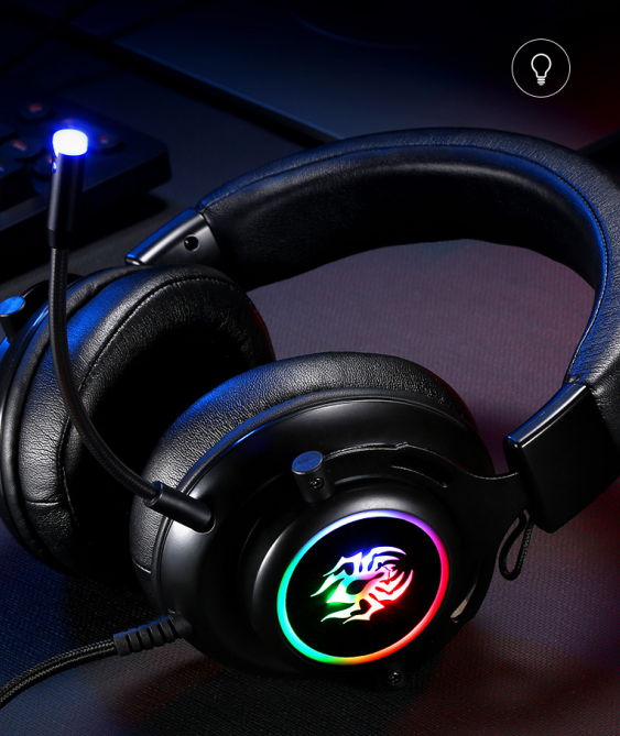RGB Headset Gaming Wired Ps4 Computer Xbox Universal Headset USB Microphone 7.1 Internet Cafe Game Headset 1