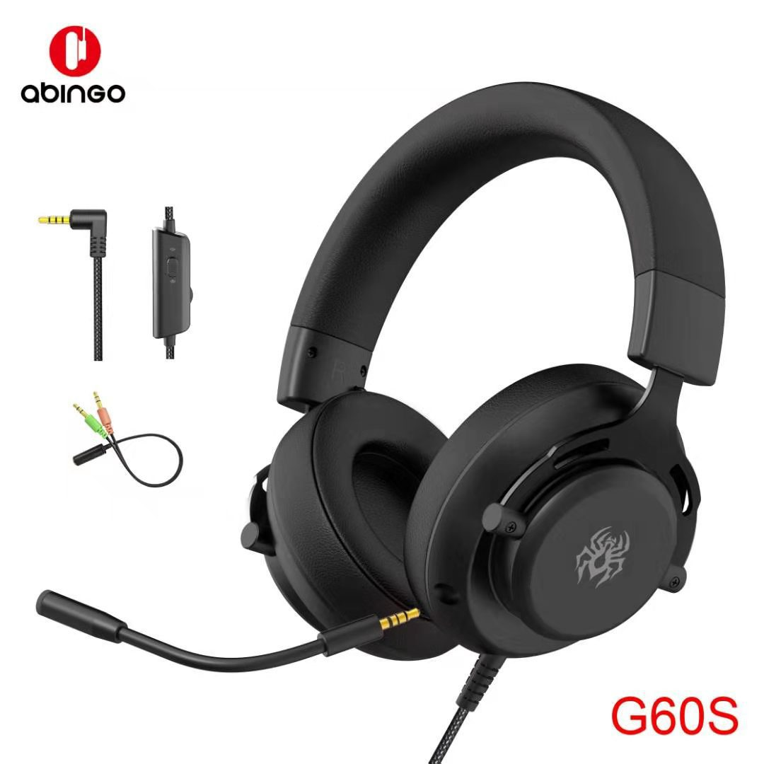 Head-mounted Wired Headset Gaming Mobile Phone Computer Universal Belt Wheat Jedi Seeking Xbox Internet Cafe CSGO Gaming Headset 7