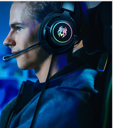 RGB Headset Gaming Wired Ps4 Computer Xbox Universal Headset USB Microphone 7.1 Internet Cafe Game Headset 2