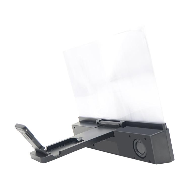 12 Inch Large Screen Bluetooth Speaker Multi-Function Mobile Phone Bracket Amplifier 2 In 1 3D Mobile Phone Screen Amplifier 4