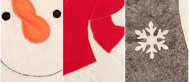 Christmas Toilet Two-piece Set Exquisite Christmas Snowman Elk Toilet Seat Cushion Santa Claus Toilet Cover  0