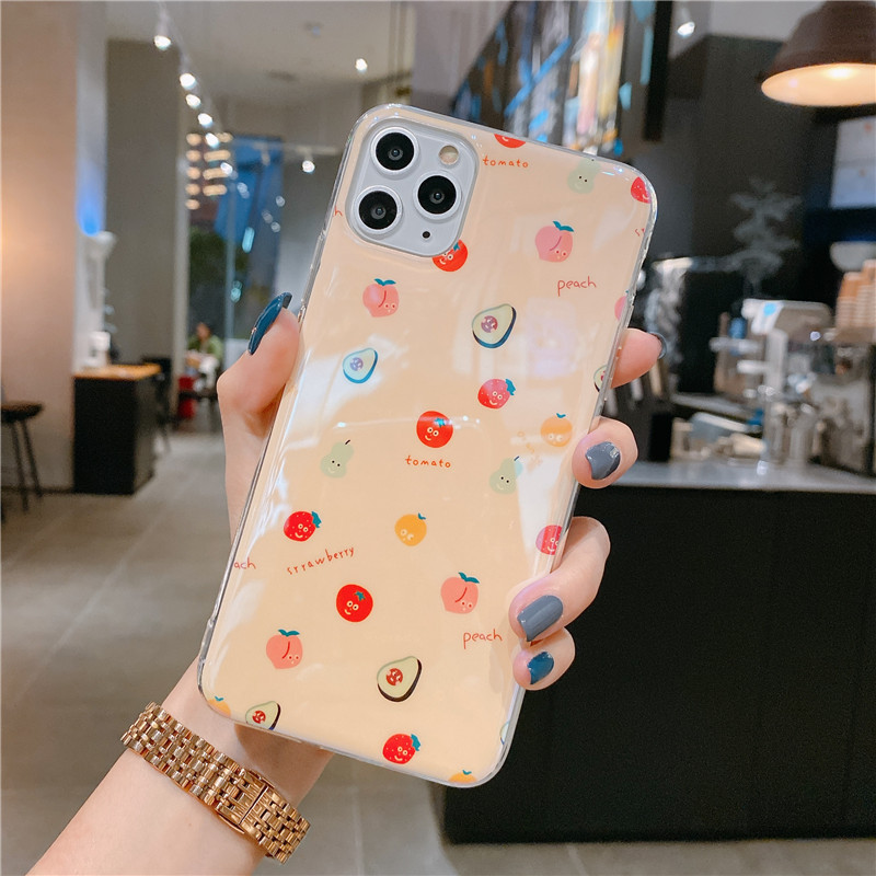 Blu-ray IMD Cartoon iPhone 11 Mobile Phone Case For iPhoneXR Bracket Soft Silicone XSmax Cover 2