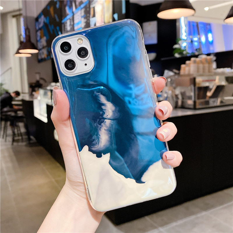 Blu-ray IMD Cartoon iPhone 11 Mobile Phone Case For iPhoneXR Anti-drop Soft Silicone XSmax Cover 1
