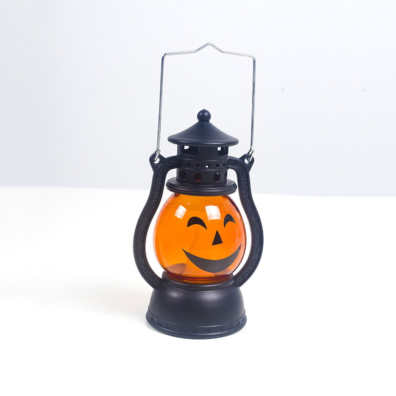 Creative Halloween Decorations Pumpkin Small Lanterns Atmosphere Decoration Ornaments For Parties And bars 2