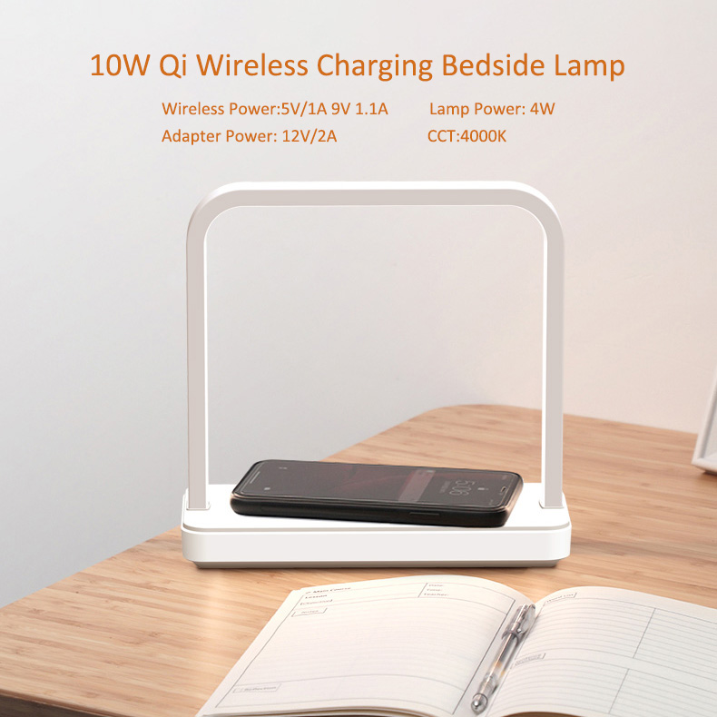 Portable Thin Large Battery Capacity Long-lasting And Durable Mobile Phone Smart Phone Charging Treasure With Desk Lamp 2