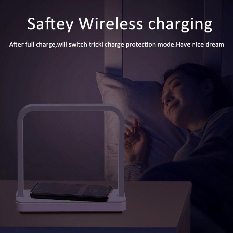 Portable Thin Large Battery Capacity Long-lasting And Durable Mobile Phone Smart Phone Charging Treasure With Desk Lamp 5