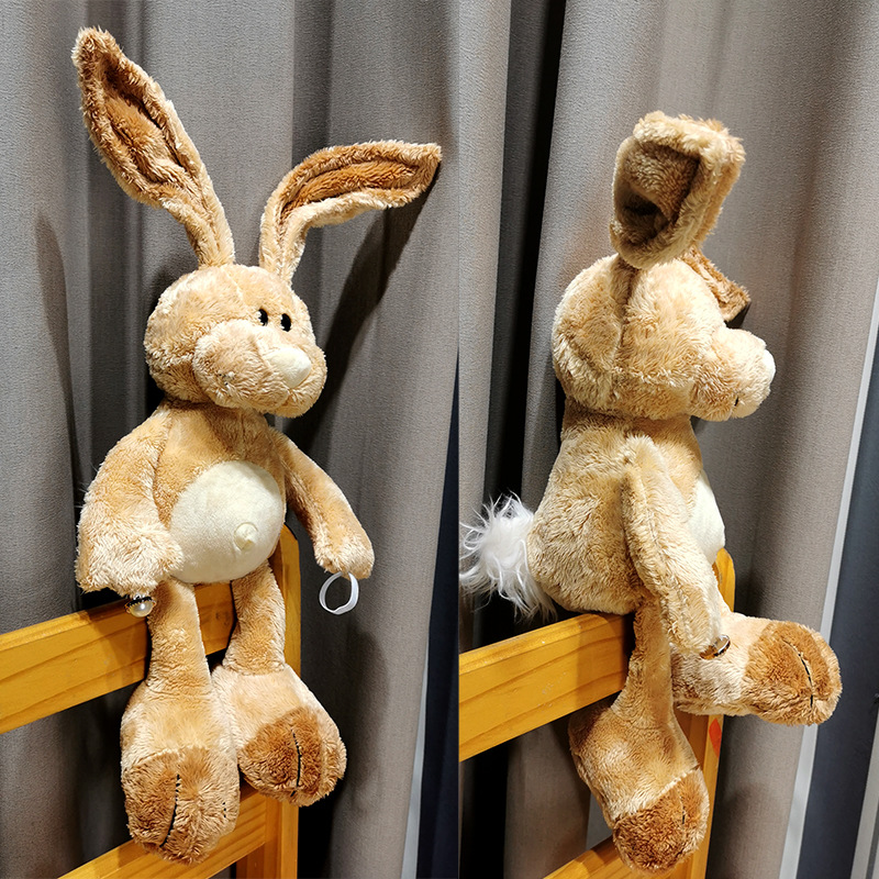 Curtain Doll Buckle Decoration Cute Cartoon Rabbit Doll Strap Wild Creative Tie Rope 0