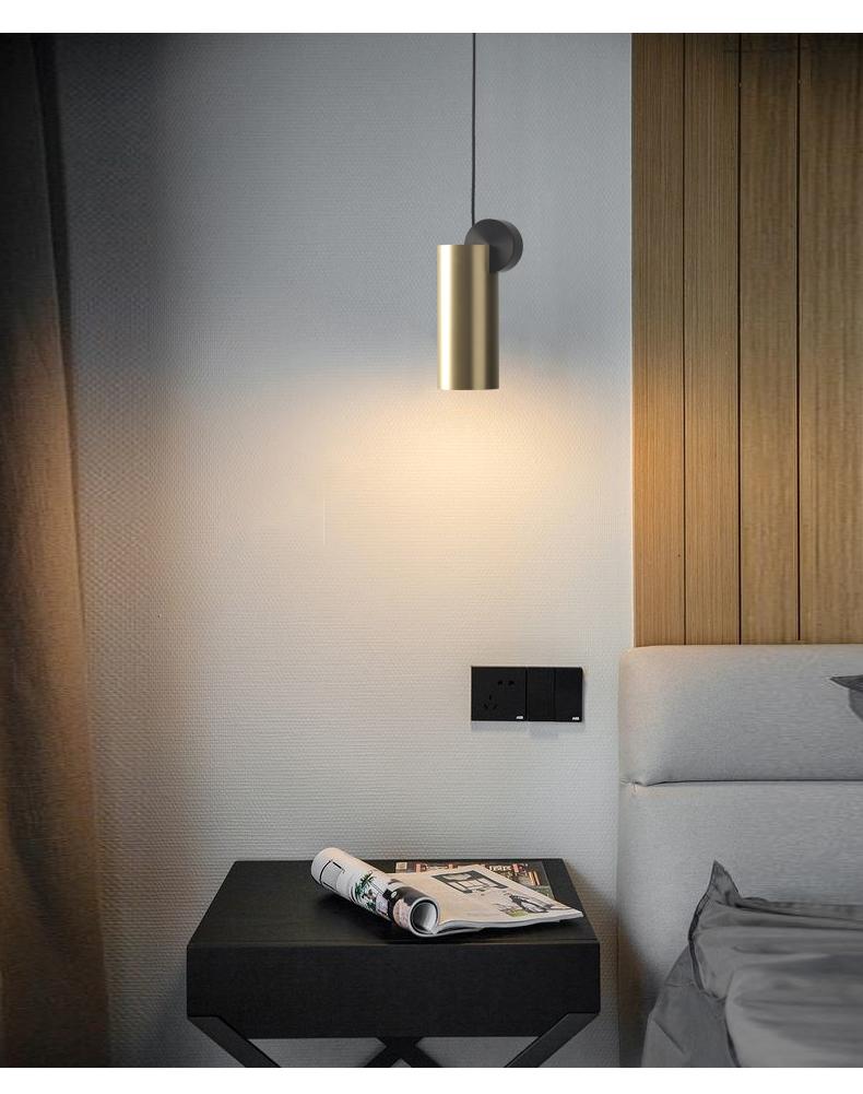 Copper Glass Night Light Multifunctional Creative Design Reading Light E27 Light Source Household Decorative Light 7