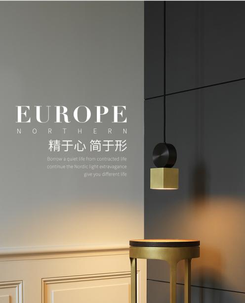 Copper Glass Night Light Multifunctional Creative Design Reading Light E27 Light Source Household Decorative Light 0
