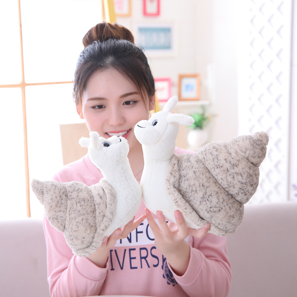 Creative Conch Doll Small Snail Doll Children's Plush Toy Ragdoll Gift For Kids 3