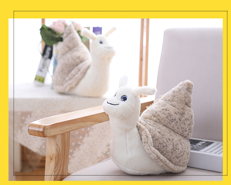 Creative Conch Doll Small Snail Doll Children's Plush Toy Ragdoll Gift For Kids 0