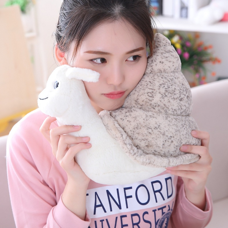 Creative Conch Doll Small Snail Doll Children's Plush Toy Ragdoll Gift For Kids 2