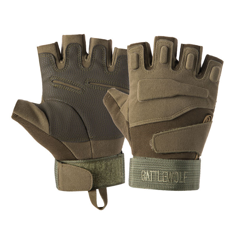 Z901A Tactical Gloves Half-finger Special Forces CS Combat Protection Climbing Hunting Army Fan Mountaineering For Outdoor 3