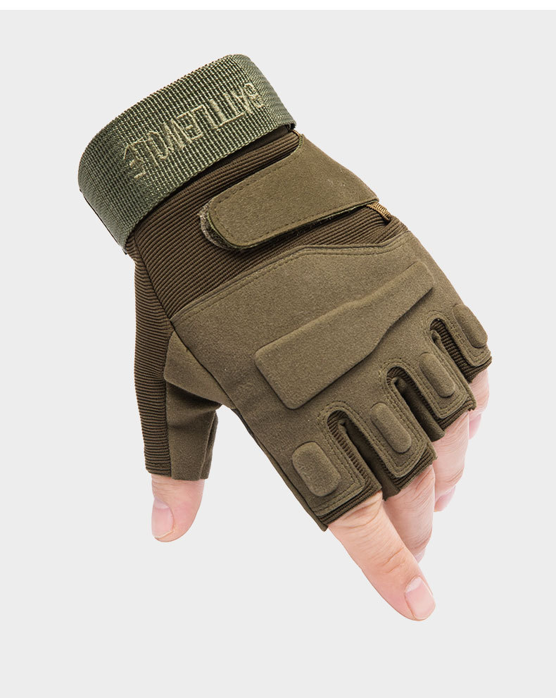 Z901A Tactical Gloves Half-finger Special Forces CS Combat Protection Climbing Hunting Army Fan Mountaineering For Outdoor 1