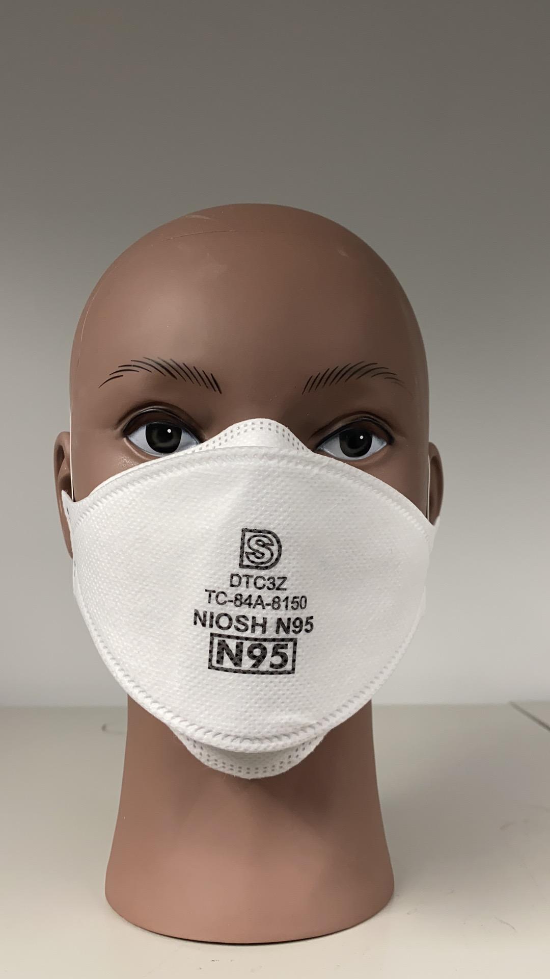 Dasheng DTC3Z NIOSH-Approved N95 Respirator Headband Face Masks 1