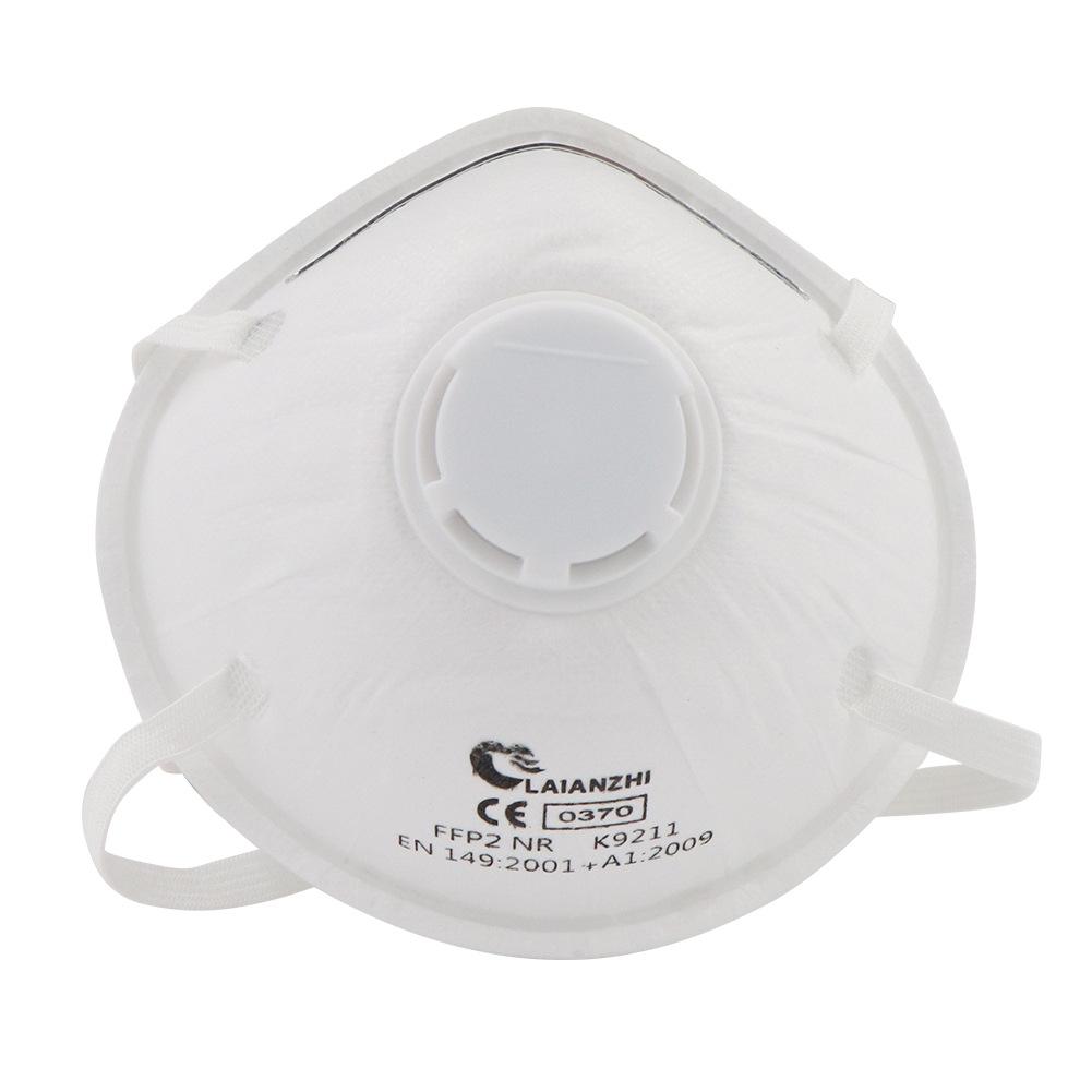 LAIANZHI K9211 CE0370 FFP2 NR Particulate Respirator with valve 20pcs/box 0