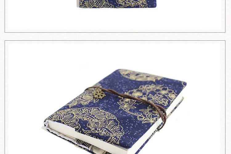 Retro Totem Handmade Cloth Book Cover Notebook Cloth Book Cover Hand Account A5A6 Adjustable Book Jacket 2